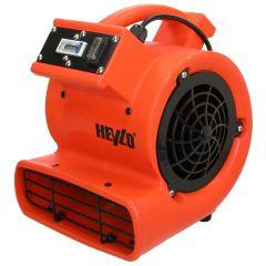 HEYZO Radiallüfter zur Hohlraumtrocknung und Wasserschadensanierung