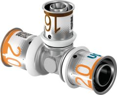 Uponor Press-T-Stück DN 32x20x32mm - 1015060