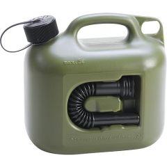 Hünersdorff Kraftstoffkanister Profi Kunststoff 5l,oliv 8002
