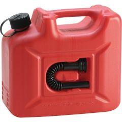 Hünersdorff Kraftstoffkanister Profi Kunststoff 10l, rot 801