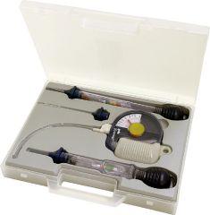 Prüfset für Akkusäure, Frostschutz Kühlkreislauf und Scheibenwasser