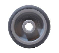 BLICKLE Räder mit thermoplastischem Gummi-Laufbelag, tragfähigkeit 50 kg Rad D= 50mm, Ac
