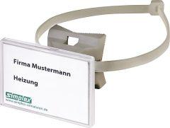 SIMPLEX Quick-Schilderhalter 70x50,8, Schnellspannband