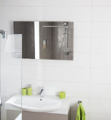 Infrarot-Heizung 600 Watt Spiegel 6mm für Wandmontage