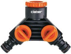 Claber 2-Wege Y-Verteiler 8598