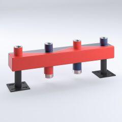 Sinus Unterverteiler-Set 120/80 3 Heizkr 6,5cbm/h inkl.EPP-