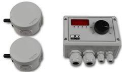 Differenz-Temperaturregelung Remko TR-2 mit Display