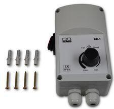 Drehzahlregler stufenlos Typ DR-3 max. 8 Geräte
